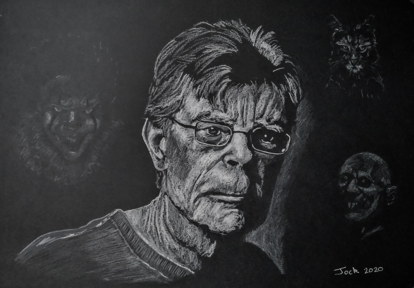 Stephen King by jockyp